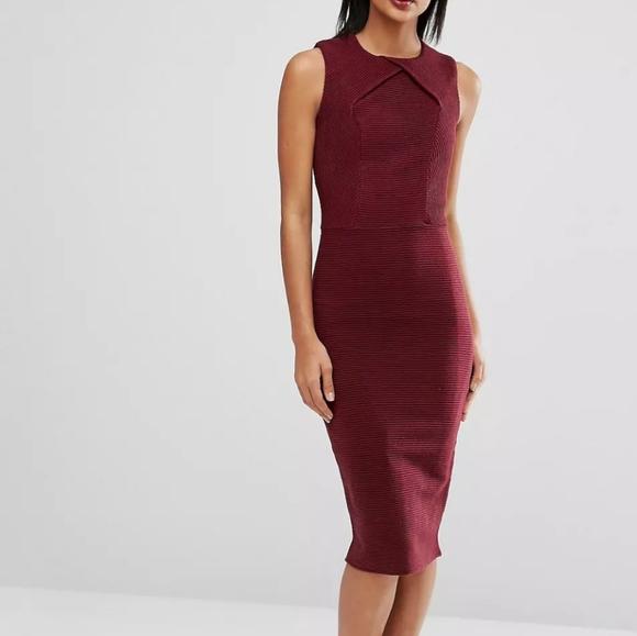 Ted Baker London Dresses & Skirts - Ted Baker Tarala Bodycon Knitted Mini Dress